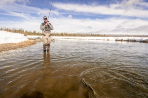 Early Season Fishing, A Guide's View