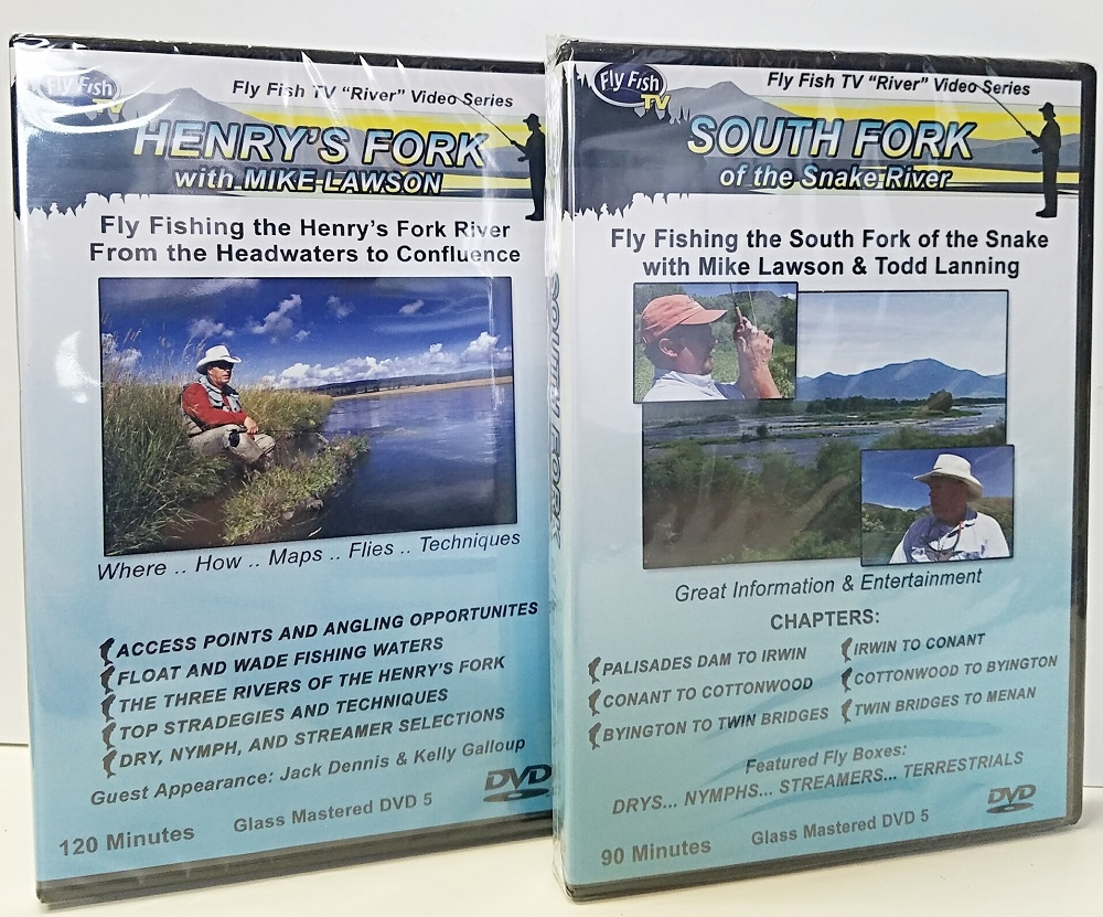 Fly Fishing The Henry's Fork and South Fork DVD