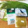 Green Drake Fly Tying Kit