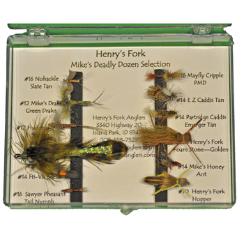 Fly Selection: Mike's Deadly Dozen