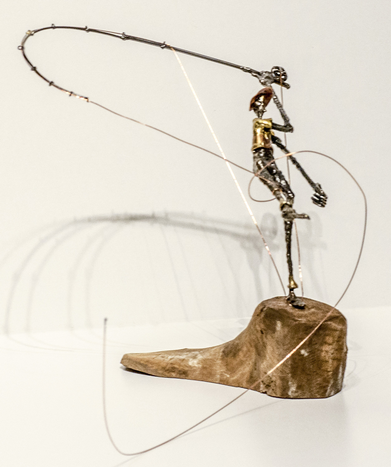 Dave Allred Sculpture Fly Fishing