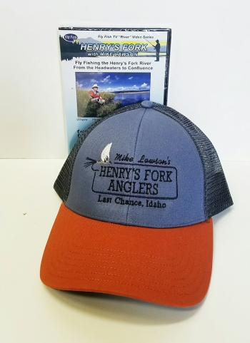 HFA Logo hat and Henry's Fork DVD