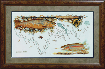 David Ruimveld Henry's Fork Map Print