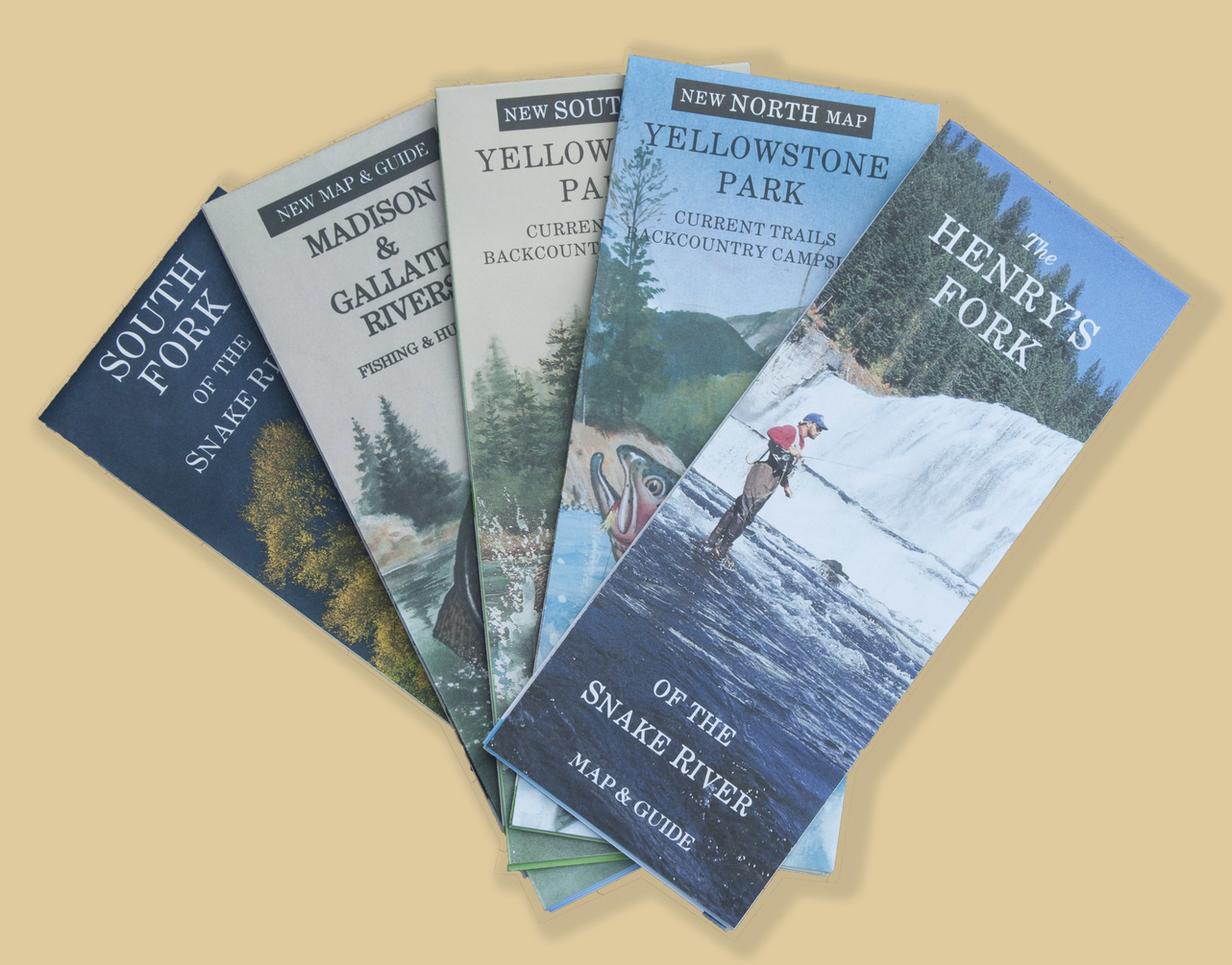 American Adventures Fishing Maps